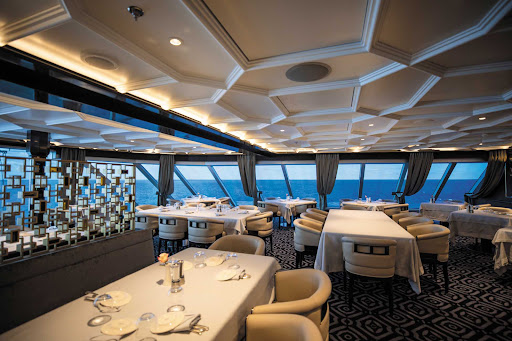 Try steaks or seafood prepared to your specifications at Prime 7 on Seven Seas Splendor.