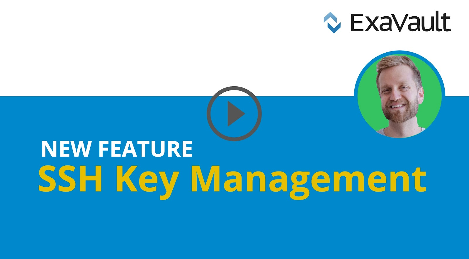 Thumbnail for New Feature SSH Key Management video.