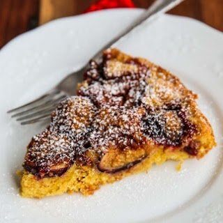 Fig Plum Orange Torte