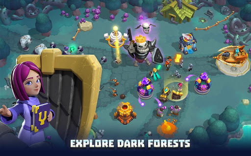 Wild Sky TD: Tower Defense Legends in Sky Kingdom screenshots 5