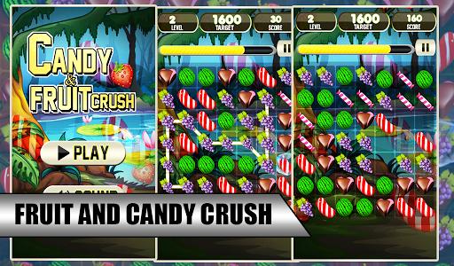 Candy Fruit Crush Splash
