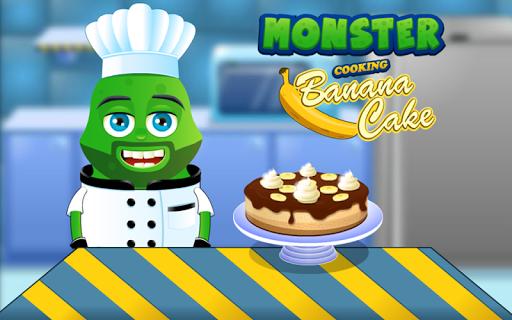Banana Cake Cooking