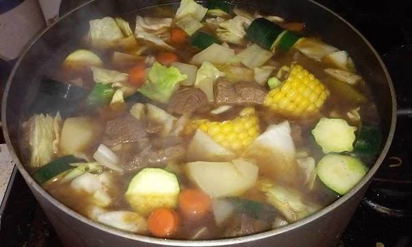 Caldo De Res  (mexican Style Beef Soup) Recipe
