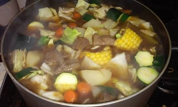 Caldo De Res  (mexican Style Beef Soup) Recipe