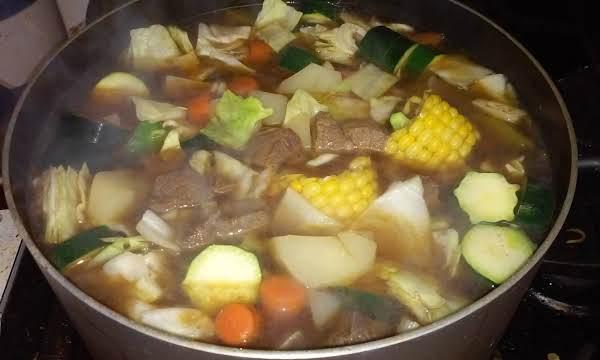 Caldo De Res  (mexican Style Beef Soup)