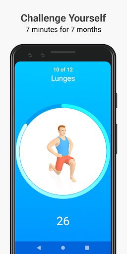 Seven - 7 Minute Workout 8.2.7 screenshots 1