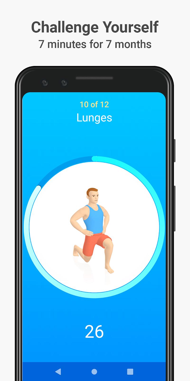 Seven - 7 Minute Workout Screenshot 0