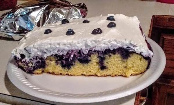 I Made This In An 11x13 Pan And Topped It With Whipped Cream Frosting And A Few Berries On Top. Everyone Luvs This.