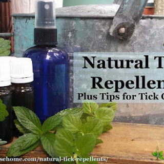 Natural Tick Repellent.