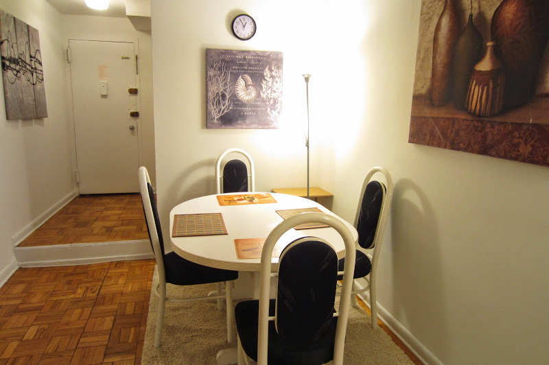 nyc short term lets apts dining area