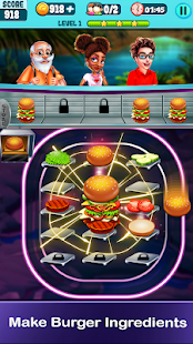 Food Merger - Match & Serve Restaurant Game Screenshot
