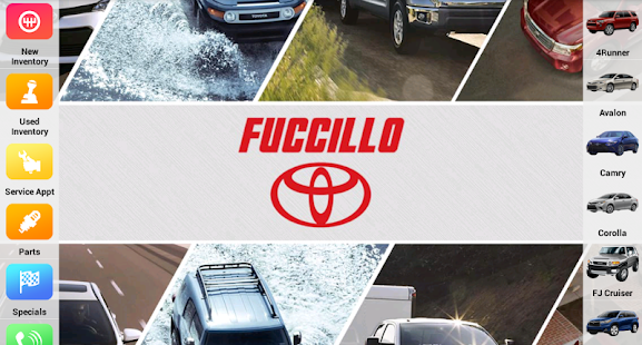 Fuccillo Toyota- screenshot thumbnail
