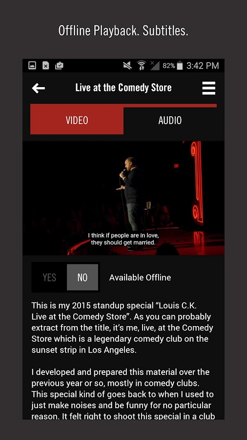 Louis CK- screenshot