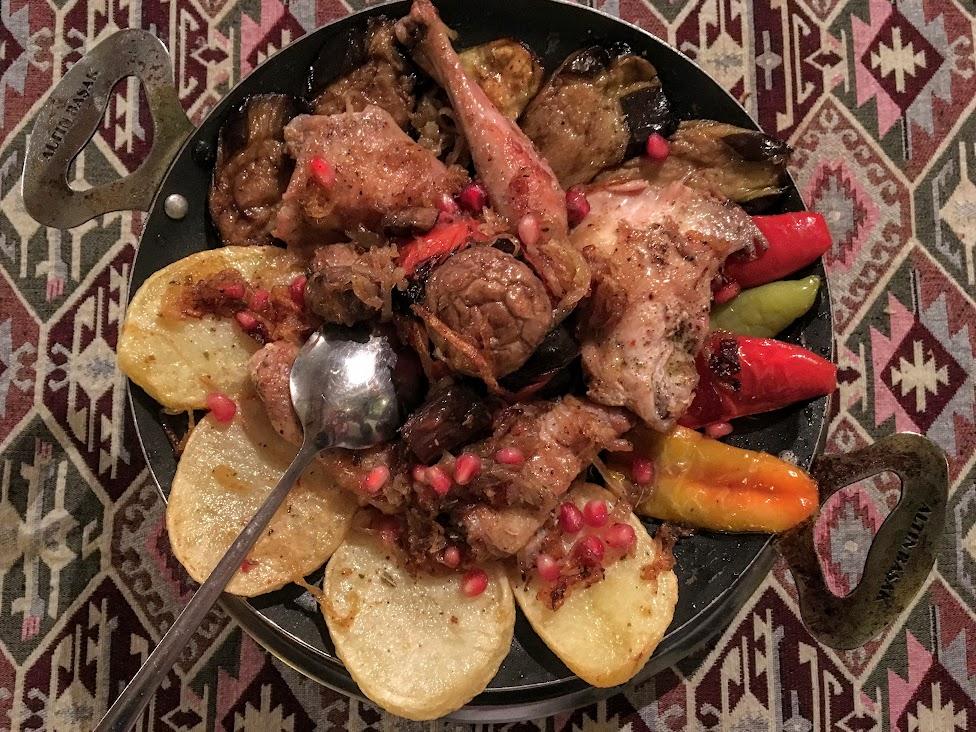Azerbejdżan, kuchnia, Sadż, Saj, Sac