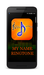 ... My Name Ringtone With Music screenshot ...