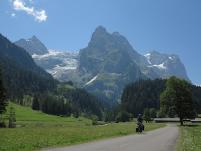 Photo: On my way to the pass close to Eyger