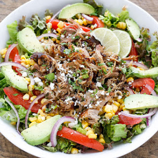 Carnitas Salad Bowl