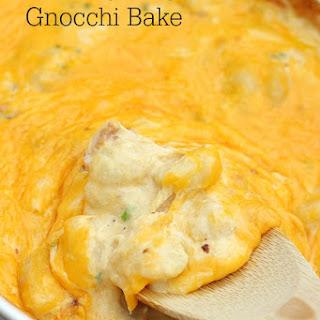 Chicken Bacon Ranch Gnocchi Bake.