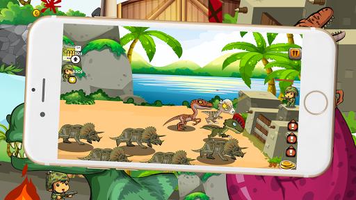 Dinosaur Défend King 3 – Chase Dinosaur Down fond d'écran 2