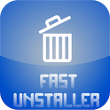 Fast uninstaller apps icon