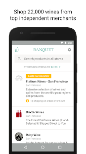 Banquet - Shop Top Wine Stores- screenshot thumbnail