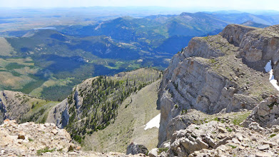 Photo: Looking down toward the trailhead
