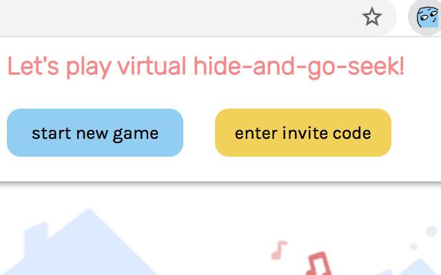virtual hide-and-go-seek