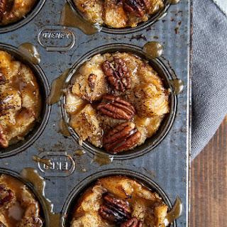 Mini Bread Puddings.