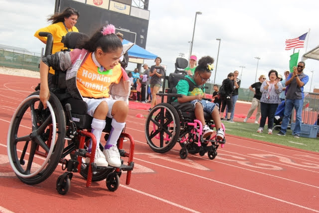 Special Olympics Track Meet