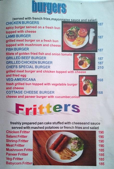 Grigliato menu 8