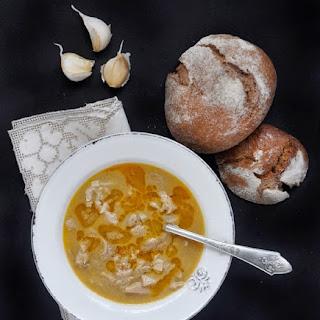 Bulgarian Tripe Soup - Shkembe Chorba