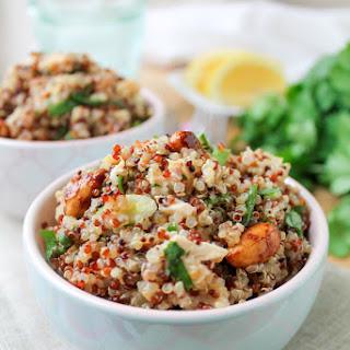 Honey Lemon Quinoa Chicken Salad – Gluten Free.