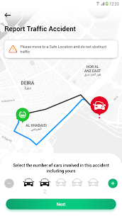 Dubai Police Traffic Accident Reporting App 5