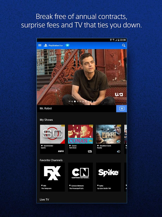 Playstation Vue Mobile Android Apps On Google Play