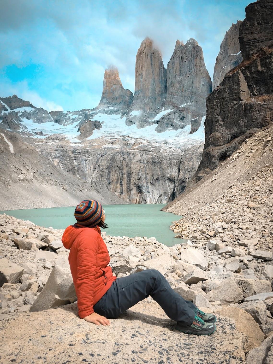 At Los Torres, Patagonia