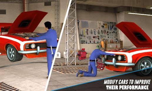 Car Mechanic Workshop - náhled
