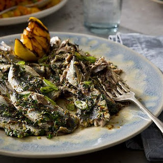 Smashed Sardines With Cumin, Parsley, Lemon And Garlic