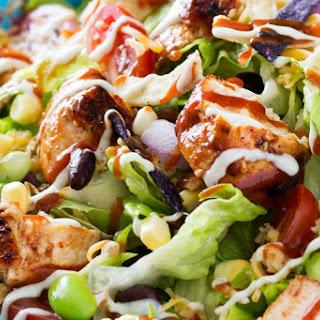 Grilled BBQ Chicken Salad