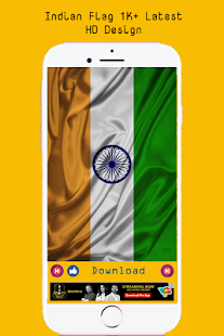 Indian HD Wallpaper Flag Of Nation - náhled