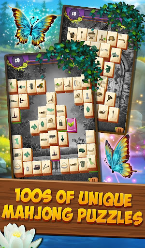 Mahjong Solitaire: Summer Blossom apkpoly screenshots 9