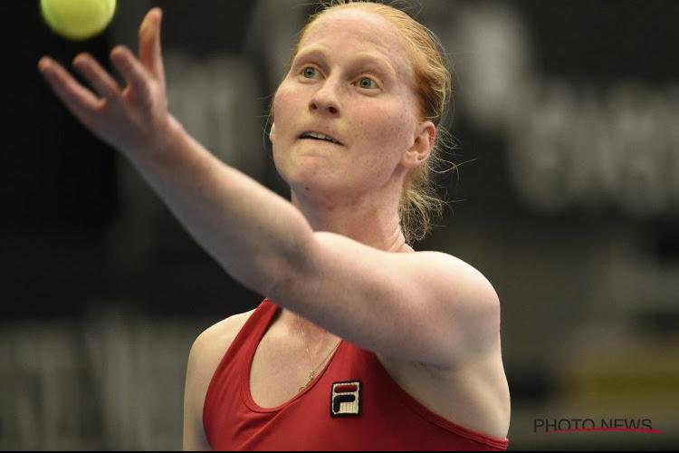 """Van Uytvanck duidt sleutelperiode uit haar wedstrijd aan: """"Nadien verandert het momentum"""""""