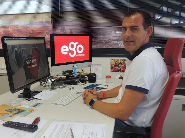 Hoy Francis Miras es el gerente de Ego Sport Center.