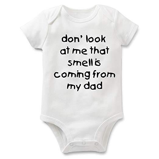 Funny Slogan Baby Onesies