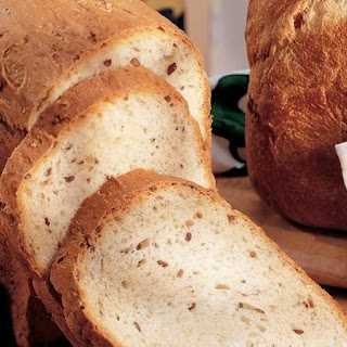 Bread Machine Oatmeal-Sunflower Bread.