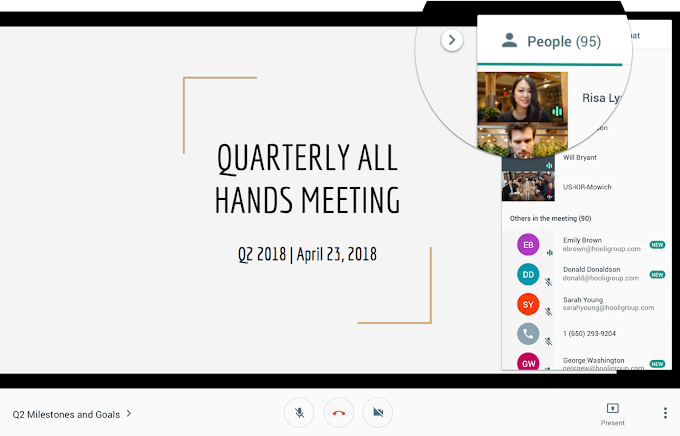 Increase the number of participants in Hangout Meet Meetings