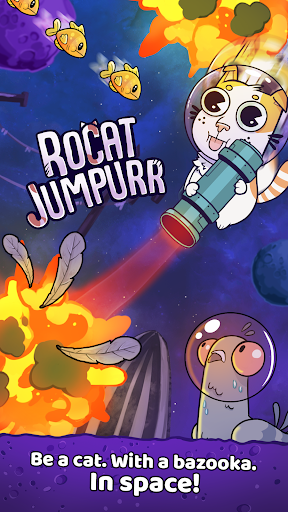 Rocat Jumpurr - Hilarious Monsters Crawler screenshot 1