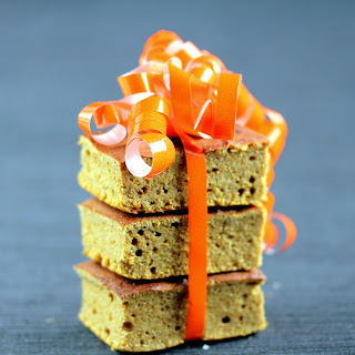 Moist Low-Carb Pumpkin Bars