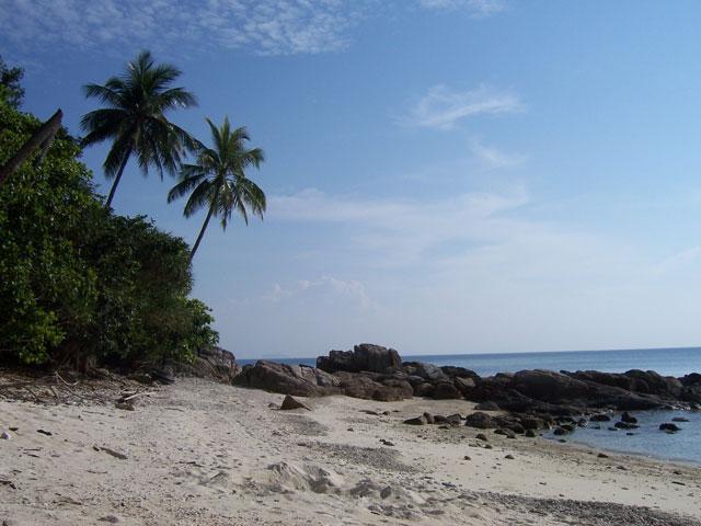 Pantai Pulau Perhentian Kecil, Terengganu.