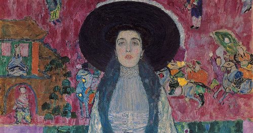 Portrait of Adele Bloch-Bauer II by Klimt. Source: NEUE GALERIE NEW YORK