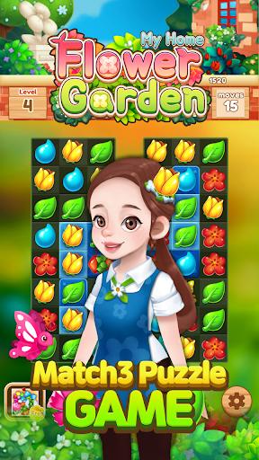 My Home Flower Garden: Puzzle Master screenshots 4